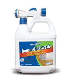 House Amp Deck Wash Concrobium